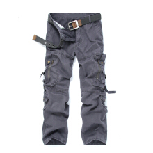 SBART Men Casual Cargo Pants Multi Pocket Military Overall Outdoors Hiking Mountain Climbing Long Pants Trousers Spring Summer