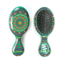 THE WET BRUSH Mini Detangler Mandala Green