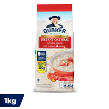 QUAKER Instant Oatmeal Large Pack 800g+200g