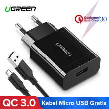UGREEN QC3.0 Charger Quick Charge 3.0 Charger for Xiaomi Redmi Samsung LG VIVO,