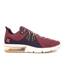NIKE Air Max Sequent 3 - Red Crush/Wheat Gold-Blackened Blue