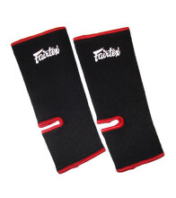 FAIRTEX Ankle Supports - Black/Red AS1 One Size