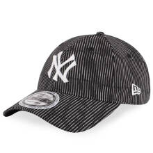 NEW ERA 11794380 POLLUTED CONTRAST - New York Yankees Cooperstown Black [9Forty/Strapback] Black One Size