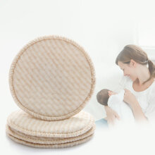 4PCS Collection Nursing Breast Pads Breastfeeding Absorbent Cover