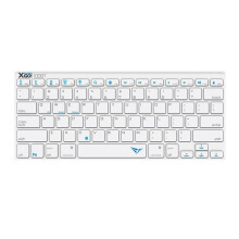 ALCATROZ Xplorer Go! BT100 Bluetooth Keyboard - Silver