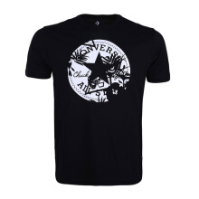 CONVERSE Palm Print Chuck Patch Tee - Black