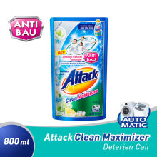ATTACK Liquid Clean Maximizer Pouch 800 ml