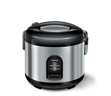 Sanken SJ-150 Rice Cooker - Black [1.2 L] Black