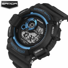 2018 Fashion SANDA Outdoor Sports waterproof Watches Digital Student children Multifunction Watches