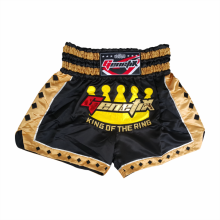 GENETIX MS0103 MUAY THAI SHORT Black