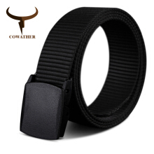 COWATHER new nylon material mens belt