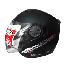 helm foz thriler solid black dof