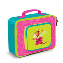 [free ongkir]Crocodile Creek Lunch Box - Pink Green Fairy