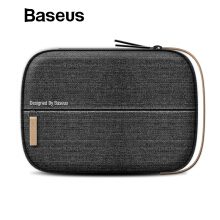 Baseus Universal Phone Bag, 7.2 inch Portable Waterproof Protective Bag Mobile Phone Accessories Bags - Black