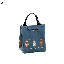 RADYSA Lunch Bag Fish - Hijau Army Dark Green