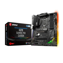MSI H370 Gaming Pro Carbon/ 3x PCIEx1 / 2x PCIEx16 / HDMI/ Display Intel Socket 1151 Motherboard