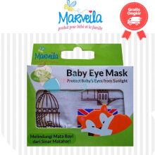 Marveila Baby Eye Mask Animal Color Blue Size 0M+