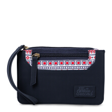 3SECOND Ladies Wallet 0411 104111728 - Blue [One Size]