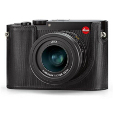 Leica Protector for Q Typ 116 Half Case Leather (19501) Black
