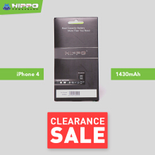 Hippo Battery iPhone 4 1430 mAh