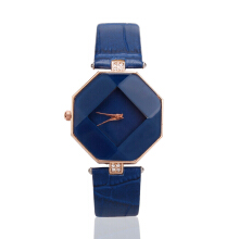 Farfi Analog Quartz Rhombic Case Wrist Watch