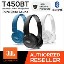 JBL Bluetooth Wireless On-Ear Headphone T450BT