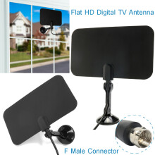 Blitzwolf 1.5M Flat Indoor Digital TV Antenna High Def for HDTV VHF UHF TVFox TVScout   -  -