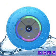 WH Q9 Wireless Bluetooth Portable Subwoofer Waterproof Speaker Car Handsfree Call Music Suction with Mic For Iphone phone xiaomi