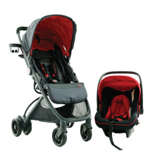 GB Stroller 1008 Ellum + Carrier - Red