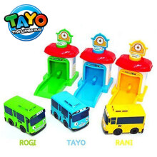 Tayo The Little Bus Shooting Car Original - Iconix