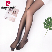 Pierre Cardin stockings pantyhose female 12D ultra-thin invisible chiffon silk romper socks thin section black flesh color female leggings socks 2 loaded light skin color code