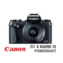 Canon PowerShot G1X Mark III Black