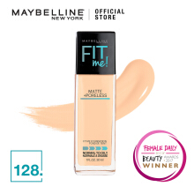 MAYBELLINE Fit Me Matte + Poreless Foundation - Warm Nude