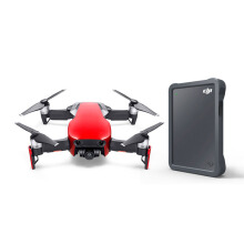 DJI Mavic Air Drone Fly More Combo - Flame Red with SEAGATE DJI Fly Drive 2TB STGH2000400