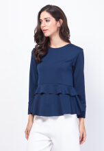Florence Top Navy All Size