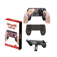 [OUTAD] Gaming Joysticks Extendable Mobile Phone Game Grips for 4.5-6.5 Inch Phones Black