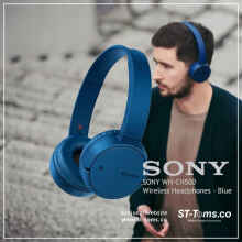 Sony WH-CH500 / WH CH500 / CH 500 Wireless Headphones - Blue