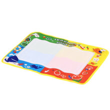 [OUTAD] 45*29cm Kids Write Draw Paint Water Mat Doodle Play Mat With Add Water Pen Multicolor