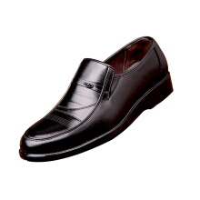 SiYing Wild men's leather shoes casual breathable dress shoes