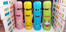 Botol Minum Termos Animal Stainless Steel 500ml Random