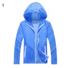 Farfi Family Matching Parent-child Solid Color UV Sun Protection Outdoor Jacket Coat