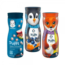 Gerber Puff Combo A (Apple Cinnamon, Blueberry, Banana)