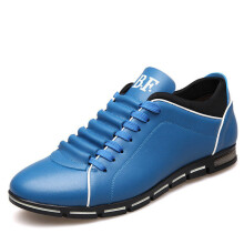 Jantens Merkmak Big Size 38-44 Men Casual Shoes Fashion Leather Shoes
