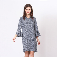 A&D Midi Dress Ms 1140 - Grey