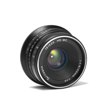 7artisans 25mm  f1.8 Lens for Sony E-Mount Black​ Black
