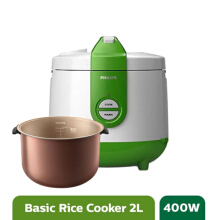 Philips Rice Cooker - HD3119/30 Basic Green