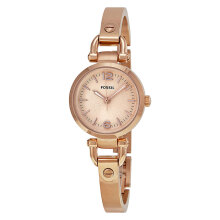 Fossil ES3268 Georgia Mini Rose Tone Stainless Steel Watch [ES3268]