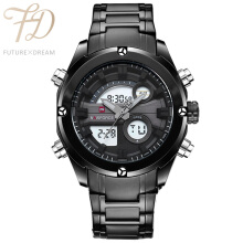 PEKY NAVIFORCE NEW FASHION Men Sports Watches Quartz Analog  Waterproof Full Steel Watch