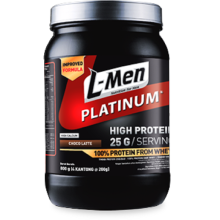 L-MEN Platinum Whey Protein Choco Latte 800g