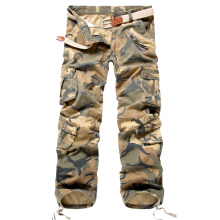 SBART Men Cotton Army Military Cargo Pants Outdoor Tactical Hiking Mountain Climbing Camouflage Pants Trousers Spring Summer